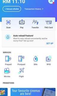 Free TnG e-wallet app reload voucher worth RM8! Xiaomi Case