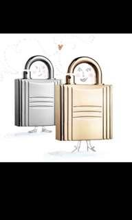 Hermes Kelly Lock Perfume Holder + Parfum