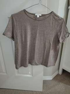 CROPPED LINEN KOOKAI TOP