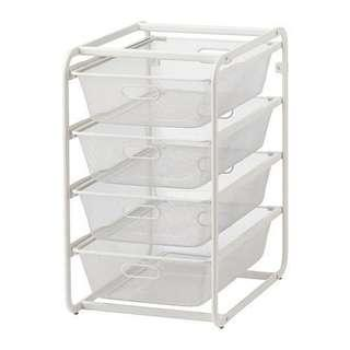 IKEA Mesh 4-tier Rack