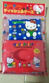 Hello Kitty Tissue Container