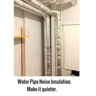 Water Pipe Noise Insulation