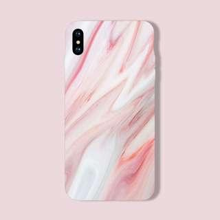 Abstract Blush Pink Swirl iPhone/Huawei/Oppo/Samsung Case