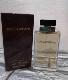 Authentic Tester D&G Pour Femme