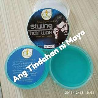 Clear Styling Wax