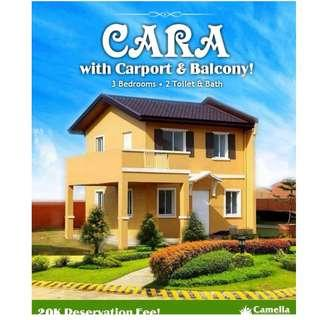 3 Bedrooms , 2 Toilet & Baths with Carport & Balcony Near NUVALI - Camella Dos Rios Trails