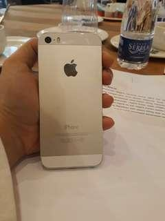 Jual santai iPhone 5s gray 16 gb