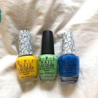 OPI nail lacquer / nail polish