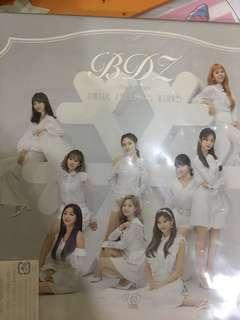 WTS Japan Bdz repackage album unsealed