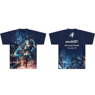 Miku EXPO T-shirt XL SIze (Day & Night)
