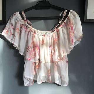 Cotton On Off Shoulder Top