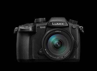 Panasonic Lumix GH5A + 64GB 4K card + bag