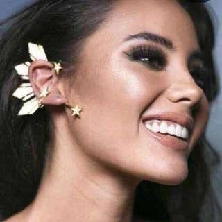 Miss universe ear cuff