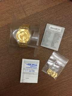 Swatch Gold Analog Watch