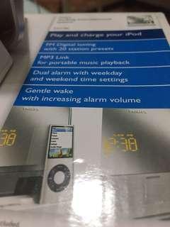 Ipod Dock/FM/MP3/Alarm