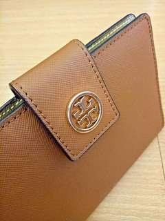 Authentic Tory Burch Passport & Card Holder