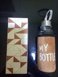 Drinking glass bottle