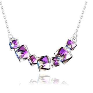 Elegant Swarovski Crystal Necklace