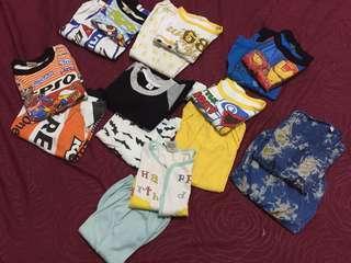 jual murah baju anak atasan bawahan baju panjang celana panjang per pasang
