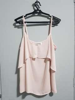 Cotton On Light Pink Dainty Top