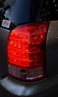 Toyota WISH (2006) Rear Lights
