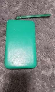 Turquoise Wristlet Wallet
