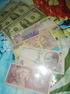 Different foreign currency