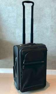 "Tumi Alpha Frequent Traveler 22"" Zippered Expandable Carry-on Luggage"