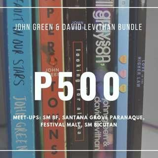 John Green and David Levithan Bundle