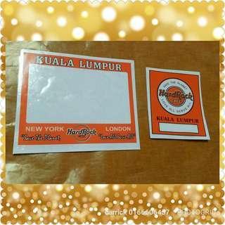Hard Rock Cafe Set Sticker