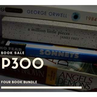 BOOKS FOR RUSH SALE!!