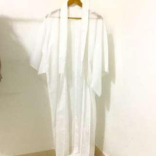 Kimono Cardigan | White Cardigan