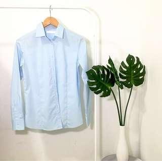 Kemeja biru | blouse