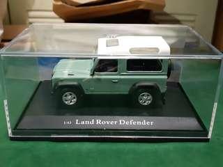 Landrover 1:43 模型
