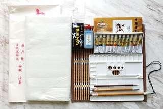 Chinese Ink Painting Set +