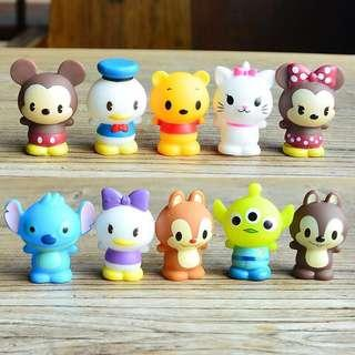 New tsum tsum disney characters cake topper decorations figurines toys tsum2