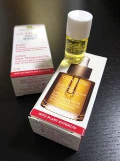 (全新)Clarins Lotus face treatment oil 面部護理油 2ml