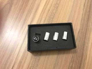 Mini Cooper valve cap