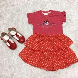 Minnie mouse outfit bundle