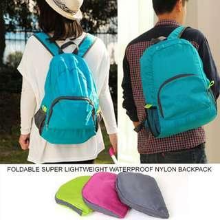 #MFEB20 Foldable Super Lightweight Waterproof Nylon Backpack For School, Travel, Hiking, Shopping