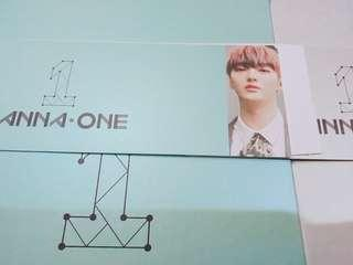 WANNA ONE 1¹¹=1 (POWER OF DESTINY) YOON JISUNG ALBUM SLEEVE (WTT)