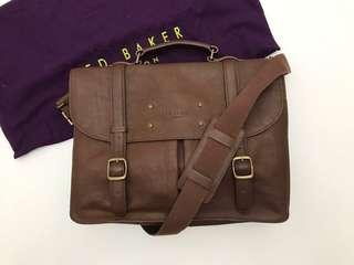 Ted baker grained leather bag