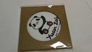 Panda 陶瓷吸水杯墊