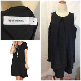Editor's market black dress