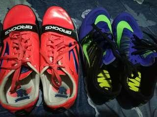 Spike shoes size 7