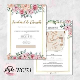 Wedding Card WC17.1