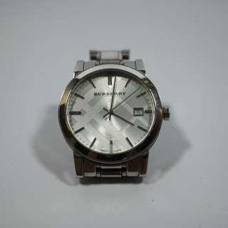 Burberry Stainless Steel Watch(100sgd)