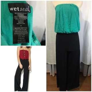 Wetseal tube jumpsuit