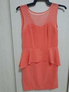 Orange Sense Dress
