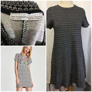 Zara tweed dress winter collection